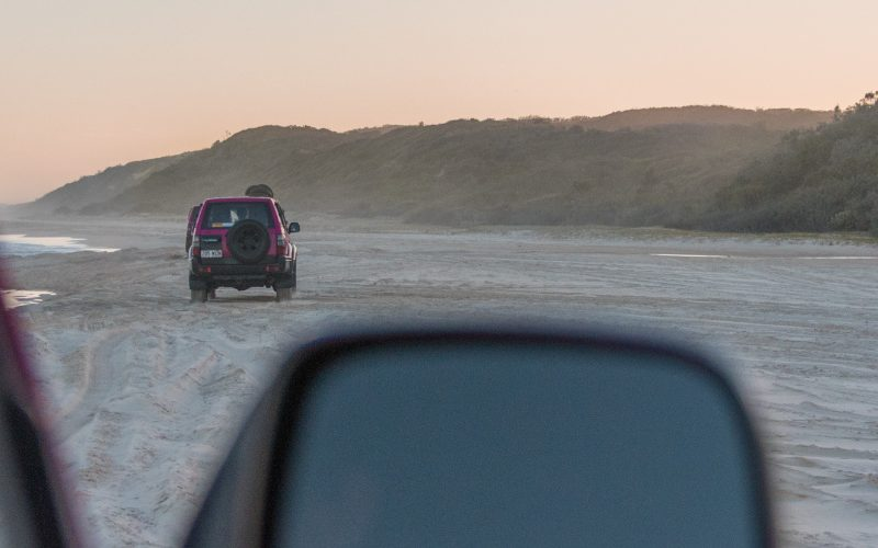 fraser island off road driving