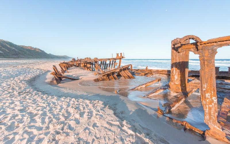 ss maheno shipwreck fraser island things to do